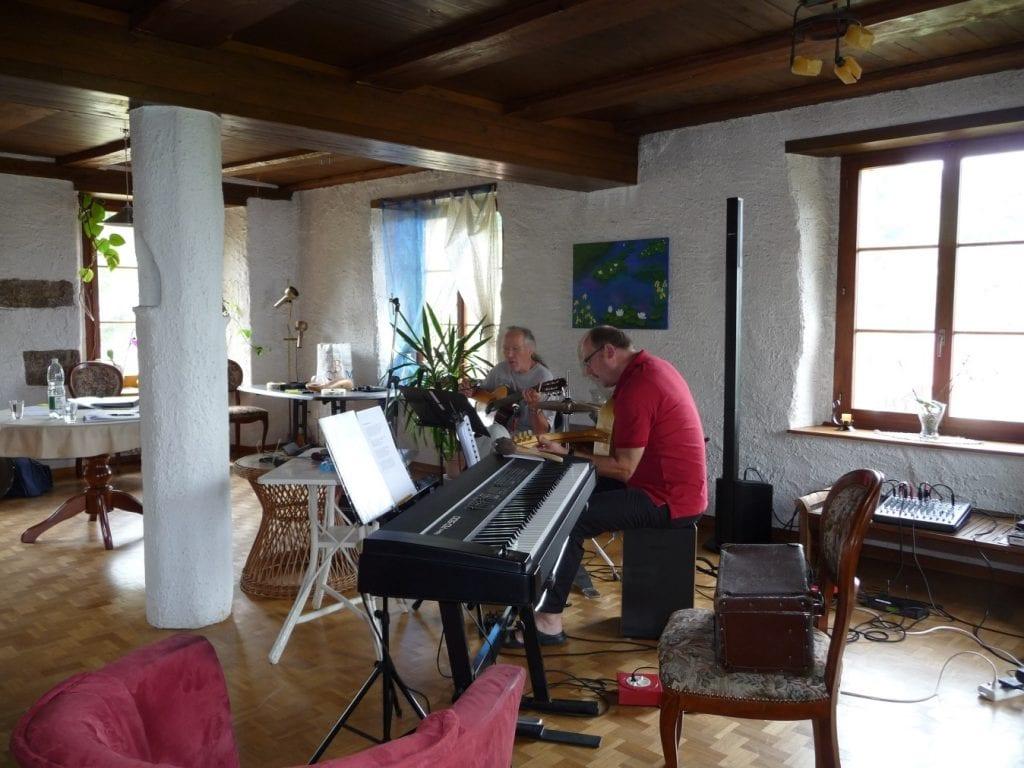 Musikschaffen im Kulturhaus Kienberg