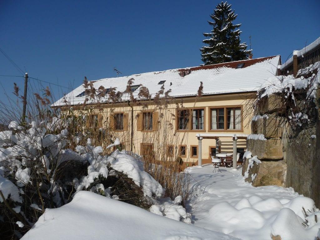 Seminarhaus Kienberg im Winter
