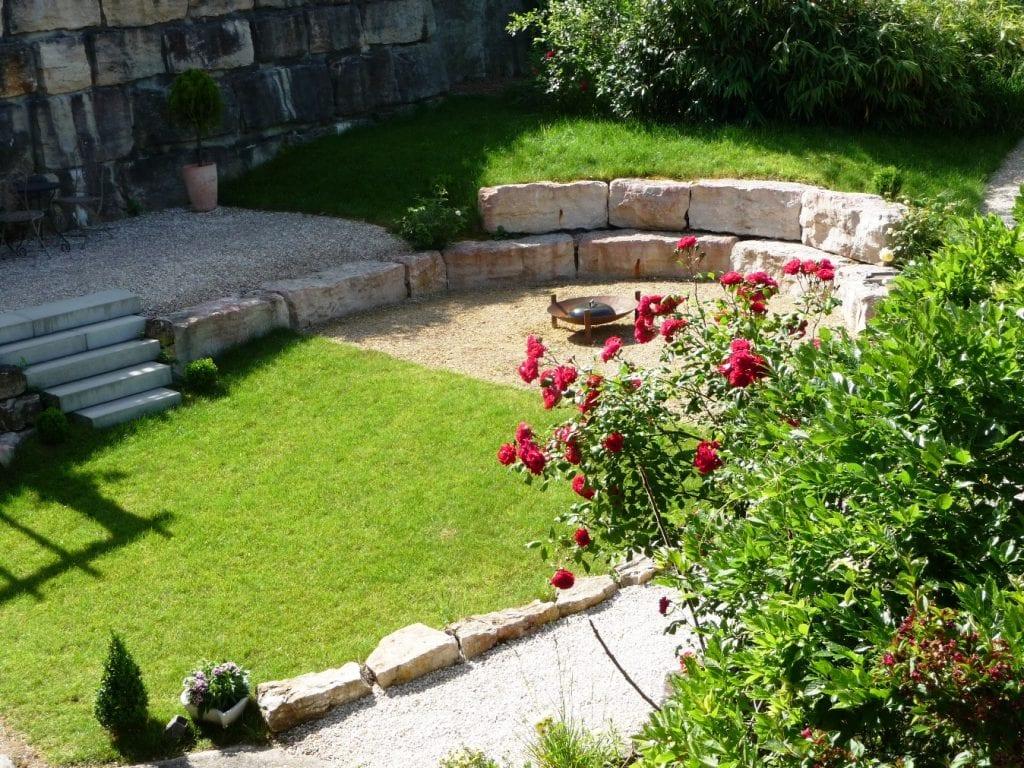 Amphitheater im Garten