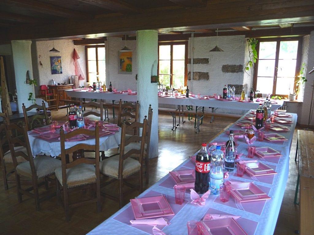 Feiern und Feste im Kulturhaus Kienberg
